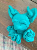 Soul fox play dough thing by WolfcyrstalXD