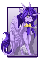 Amethyst The Dragoness by Anais-thunder-pen