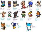 Animal Crossing Villagers | RM.