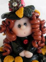 Autumn Witch close up by HeartshapedCreations