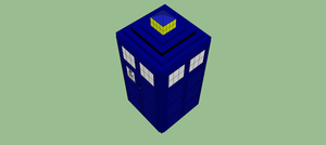 3D TARDIS by StuDocWho