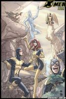 X.Men First Class: Montain by BrunaBrito