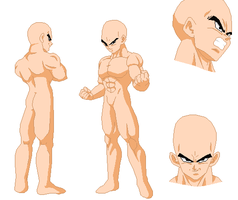 Vegeta profile base by Furipa93
