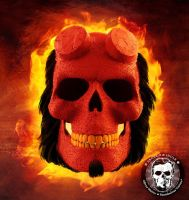 Hellboy: Skullified by fantasio