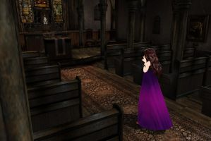 MMD Stage Re-Upload The Chapel by Clonesaiga