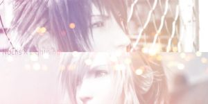 [20140302]noctis x lightning by SyarinCielo