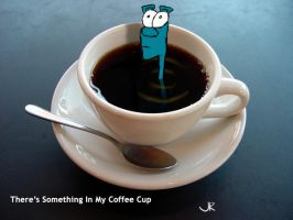 Something In My Coffe Cup by bigbrownpaperbag