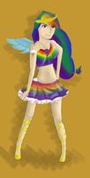 Rainbow Dash Transformation by Silvestrate