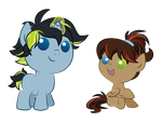 Miles and Scout - Brand New Foals! by Chasm03