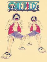 One Piece Captain Luffy by lisong24kobe
