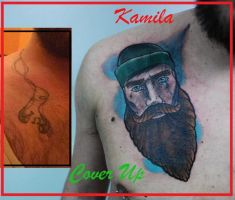 fisher man cover up by kama-tattoo