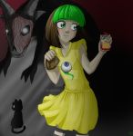 Jacksepticeye plays Fran Bow by iBunniee