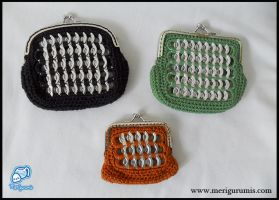 Pop tabs coin purses IV by Randalassa