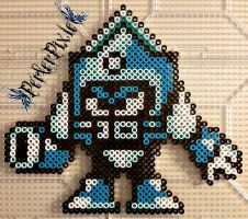 Frigid Man by PerlerPixie