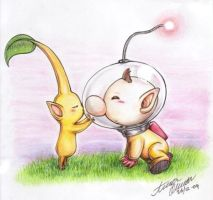 Chu-chu, Captain Olimar by Annausagi