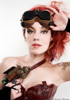 Steampunk: Hot Blooded by NightshadeBeauty