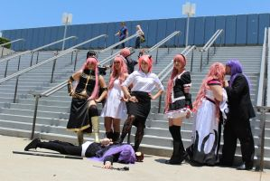 Luka and Gakupo - AX 2012 by AtomicBrownie