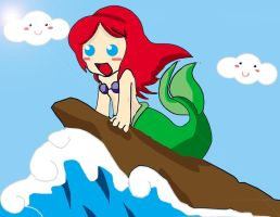 The Little Mermaid by Chibi-Kitty-Chan