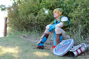 Hyrule Warriors - Link Cosplay by NipahCos