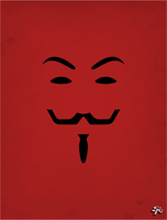 V for Vendetta - V by soopernoodles