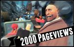 2000 Pageviews! by FrillyPantsStudios