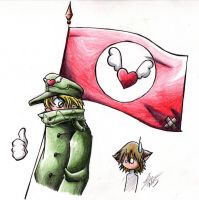 -hellsing- Carrying the Banner by zkoegul