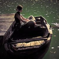 Girl on Boat by oreo12