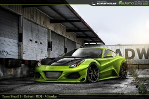 WTB' 12 R1 - Ferrari Berlinetta F12 by Rob3rT----Design