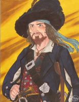 Captain Hector Barbossa: Pirate Version! by HavocGirl