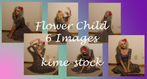 Flower Child 3 by kime-stock