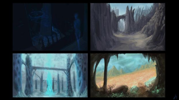 The End of Time Scenery Concept - Page 1 by raphx2000