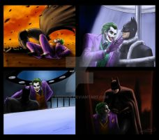 The Bat and The Clown by Berende