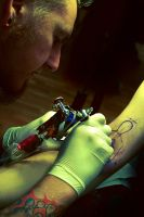 Tattoo Artist by suzianiaa