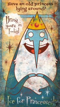 Adventure Time! - Ice King by FischHead