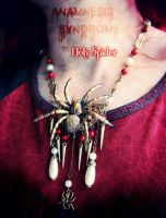 Holy Spider, freaky necklace! by Verope