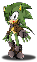 .:AT: Blade The Hedgehog:. by XxRubytheRabbitxX