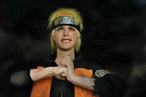 uzumaki naruto cosplay: Determined by Guilcosplay
