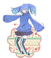Ene desu + SPEEDPAINT by Philaphobia