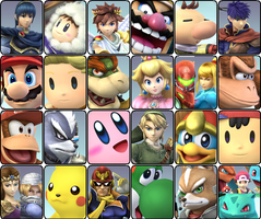Super Smash Brothers Assault by KingDor65