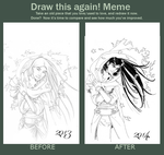 Meme  Before And After by Dracoria18