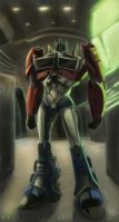 Autobot Outpost Omega One by Raikoh-illust