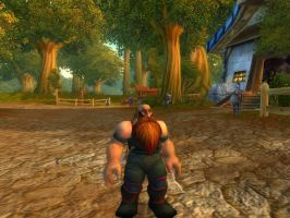 World of Warcraft - Rogue in Goldshire by Gery850