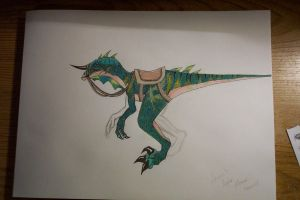Raptor Mount - Nezern's by CalleStar