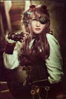 Claire Steampunk VII by RemusSirion