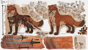 Jae 2015 reference sheet  by AgentWhiteHawk