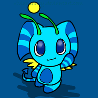 Blue Nights Chao thing by vivianchhay