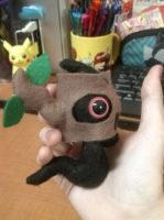Simplified Phantump Plush by Vulpes-Canis