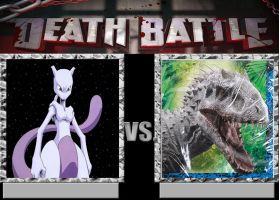 Mewtwo vs. Indominus rex by Jdailey1991
