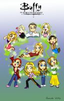 Buffy Season 5 Cast by girl0in0question