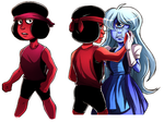 Ruby and Sapphire by Takeuchi15
